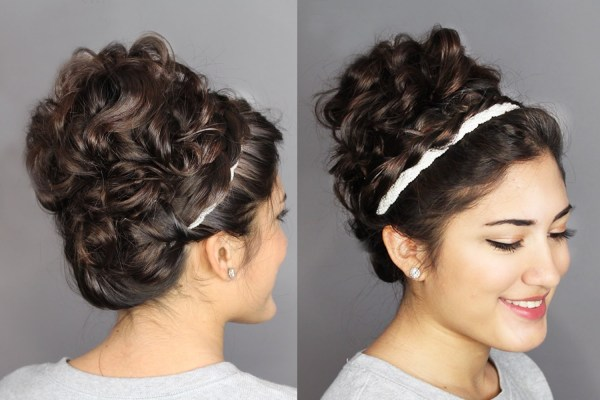 30 Sweet 16 Bun Hoop Hairstyles Hairstyles Ideas Walk