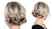 of cute easy updo hairstyles