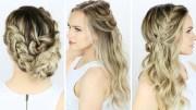 ideas of cute easy wedding hairstyles