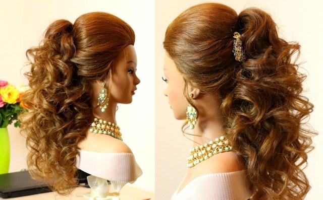 15 Best of Big Curls Wedding  Hairstyles