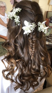 Wedding Hairstyles For Long Dark Brown Hair