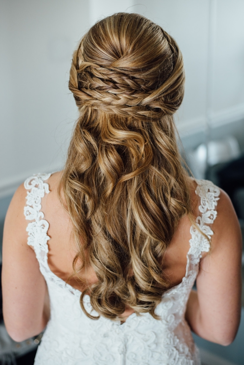 2018 Latest Summer Wedding Hairstyles For Long Hair