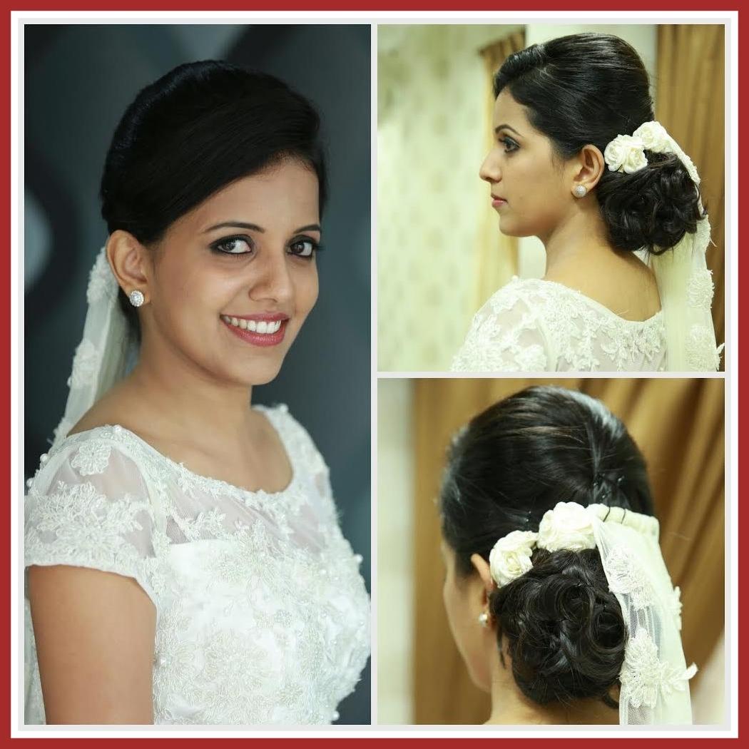 ladies hair style kerala