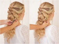 2018 Popular Wedding Hairstyles With Plaits