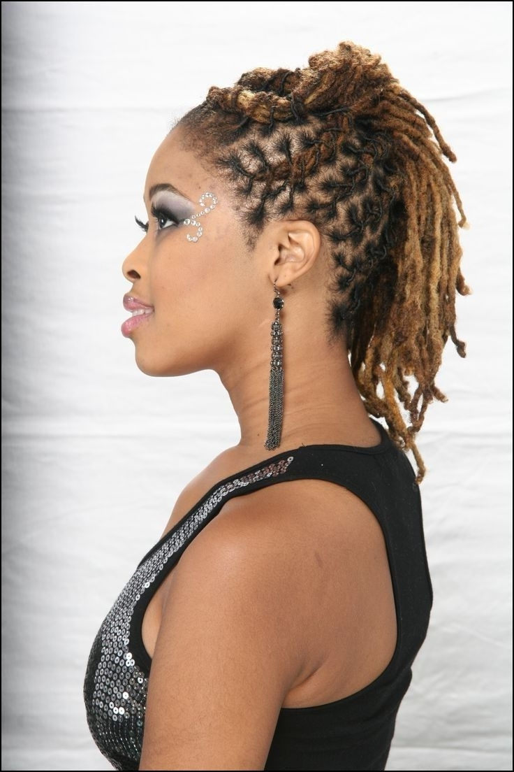 2019 Popular Braided Dreadlock Hairstyles For Women