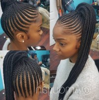 15 Best Collection of Braided Up Hairstyles With Weave