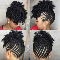 15 Inspirations of Braided Hairstyles For Short African ...