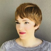 collection of blonde pixie