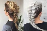 2019 popular mohawk french braid