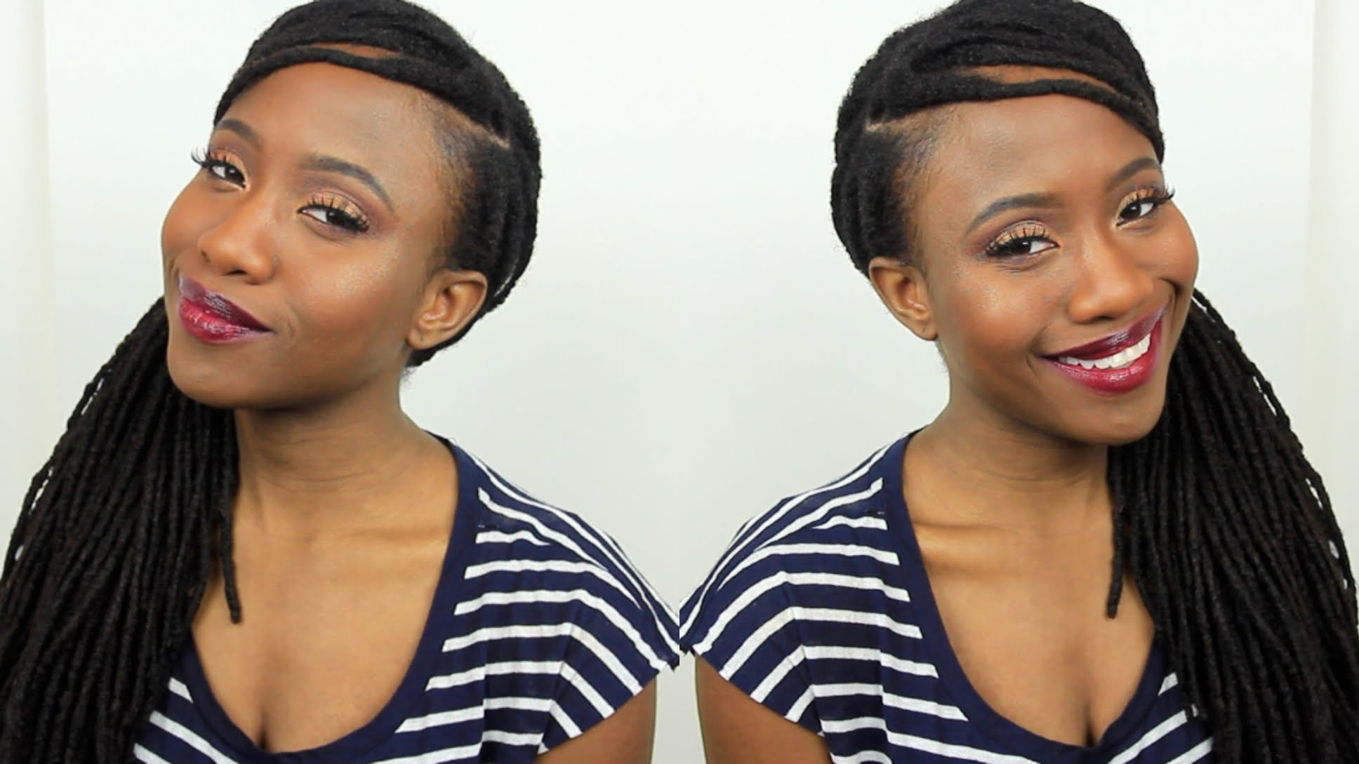 black hairstyles to cover edges