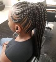 2019 popular chunky mohawk braids