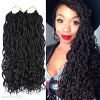 15 Best Collection of Twist From Box Braids Hairstyles