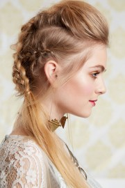 ideas of messy pony hairstyles