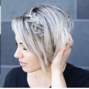 of asymmetrical long pixie