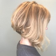 ideas of nape-length blonde