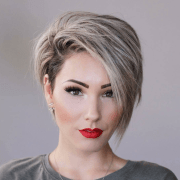 2019 latest straight pixie hairstyles