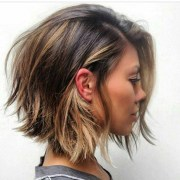collection of messy choppy layered