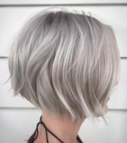 of gray bob hairstyles