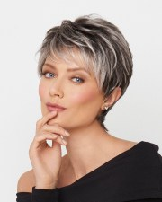 inspirations of layered pixie