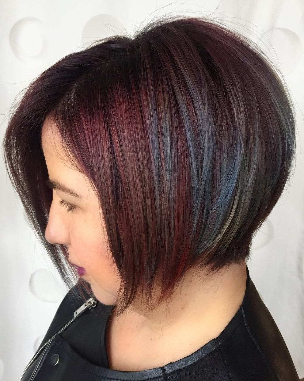 2019 Latest Uneven Layered Bob Hairstyles For Thick Hair