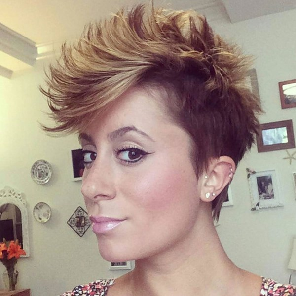 Cute Short Asymmetrical Haircuts Faux Hawk - Year of Clean Water