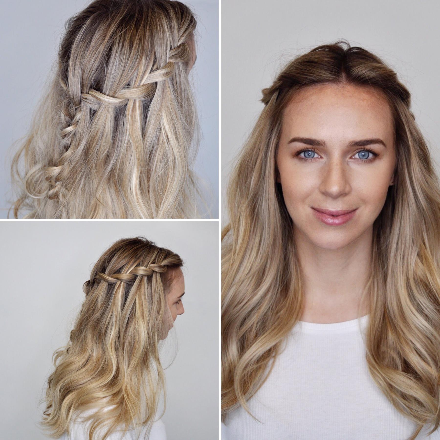 medium hairstyles simple