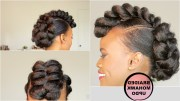 ideas of mohawk updo hairstyles