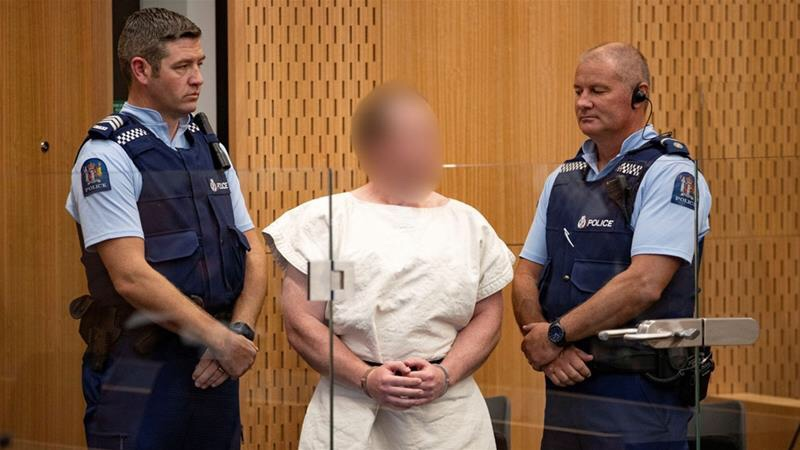 New Zealand mosque gunman pleads not guilty