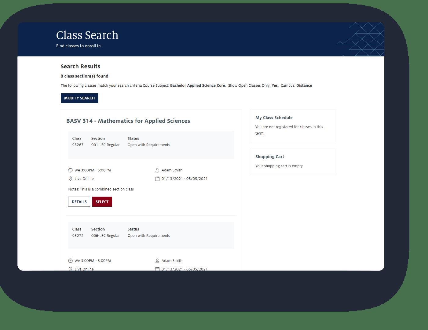 UAZ Non Branded Student Experience Platform