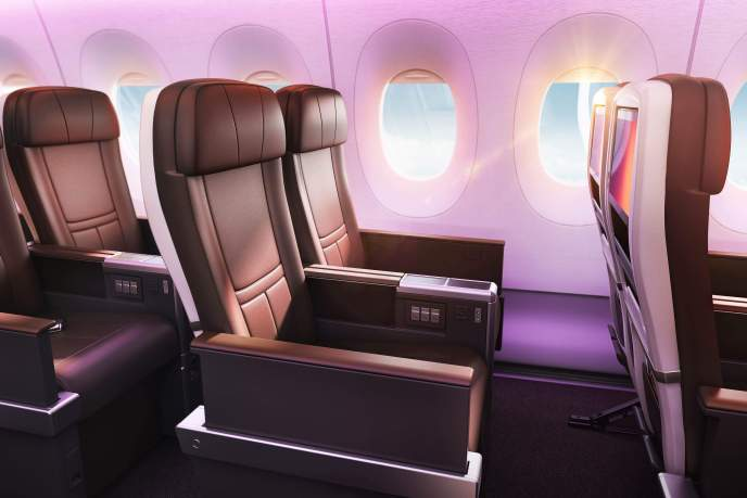 Virgin Atlantic Premium seat