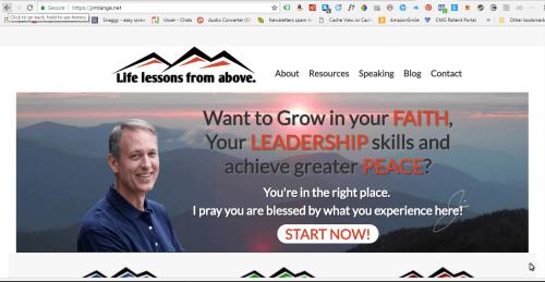 5Feet20.com site conversion to JimLange.net