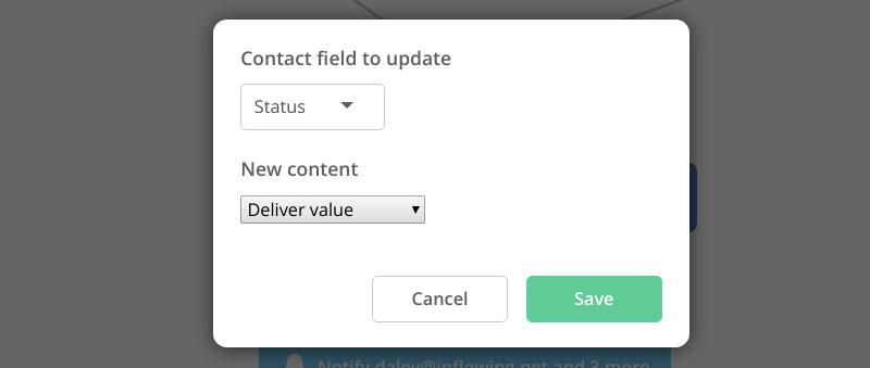 Status box - deliver value stage