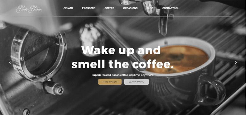 Bar Basso Website