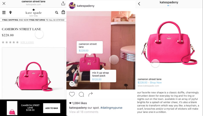 instagram shoppable photo tags