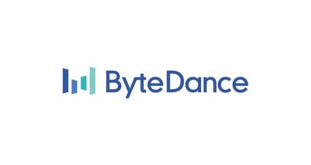 Логотип ByteDance в оттенках синего