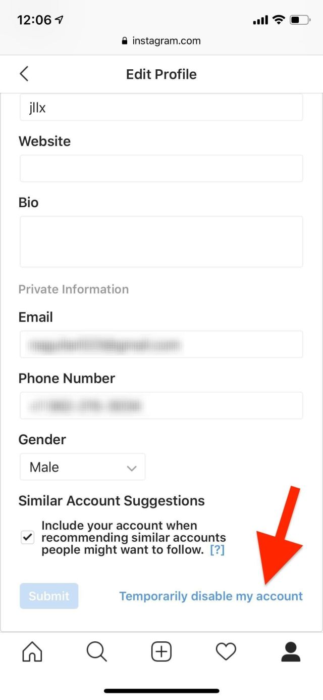 How To Deactivate Instagram Account For Some Time  Know It Info