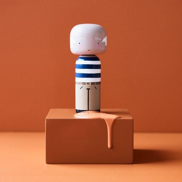 Figurine bois Pablo Picasso, Lucie Kaas