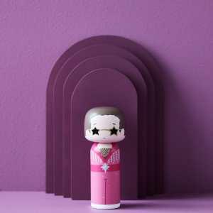 Figurine bois Elton John, Lucie Kaas