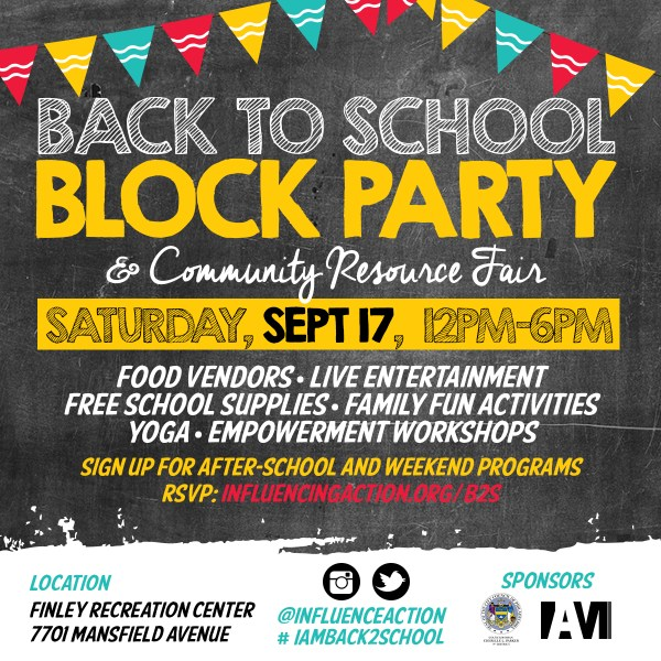 Meet Uptown September 17th Iam School Block Party & Community Resource Fair