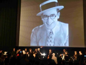 "The biggest thrill for me was the 18-piece orchestra providing the music for Harold Lloyd's comedy, ""Why Worry?"""
