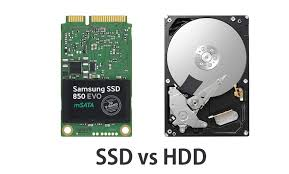 What is the difference between HDD and SSD hard drives?