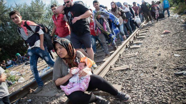 Беженцы из Ближнего Востока