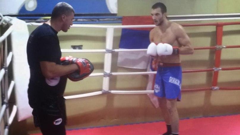 Александр Стойкович на тренировке