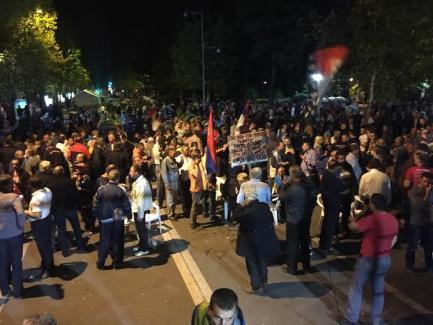 Протест в Подгорице-2
