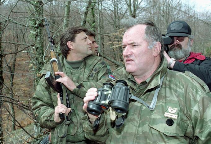 Ратко Младич говорит на русском языке