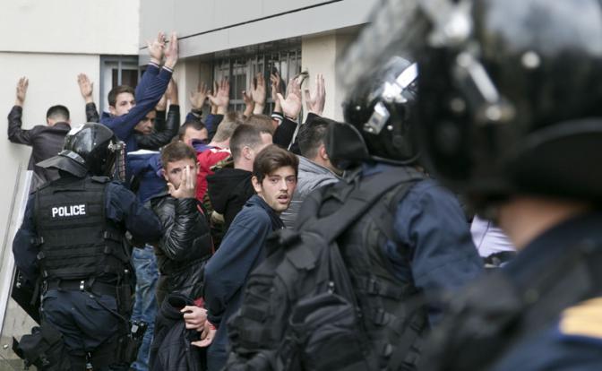 Акция протеста в Косово