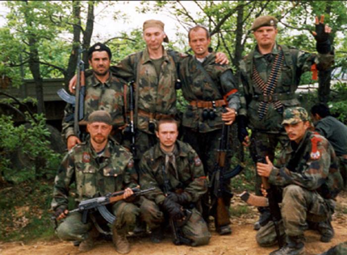 Русские добровольцы в Косово и Метохии