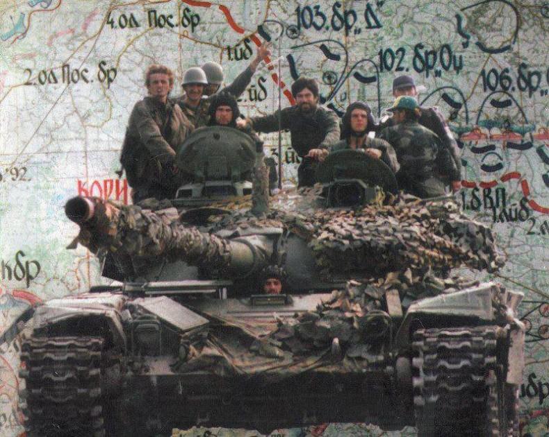 """Операция """"Коридор-92"""" войск Республики Сербской"""