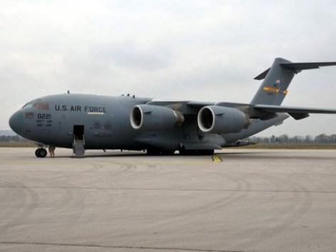 Самолет ВВС США в Сербии