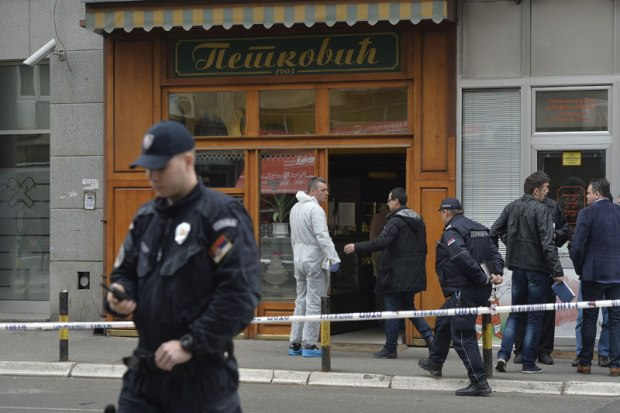 Теракт в Сербии: мужчина взорвал сам себя в Белграде